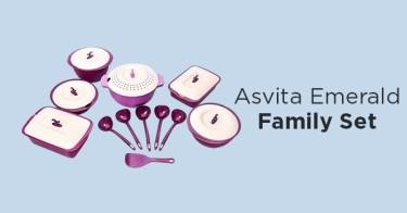 Asvita Emerald Family Set