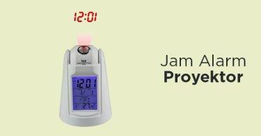 Jam Alarm Proyektor
