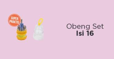Obeng Set Isi 16
