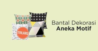 Bantal Sofa Bermotif