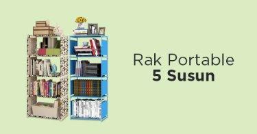 Rak Portable 5 Susun