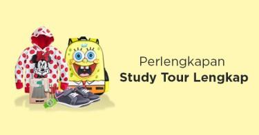 Jual Perlengkapan Study Tour Anak dengan Harga Terbaik dan Terlengkap