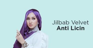 Jilbab Velvet Anti Licin