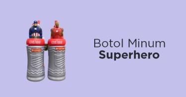 Botol Minum Superhero