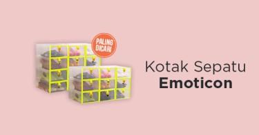 Kotak Sepatu Emoticon