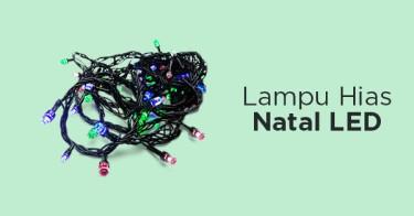 Lampu Hias Natal Jakarta Barat
