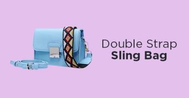 Double Strap Sling Bag