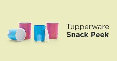 Tupperware Snack Peek