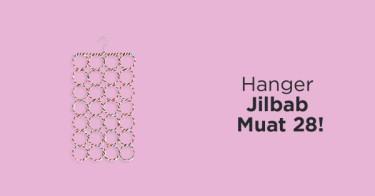 Hanger Jilbab Scarf Isi 28