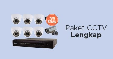 Paket CCTV Lengkap!