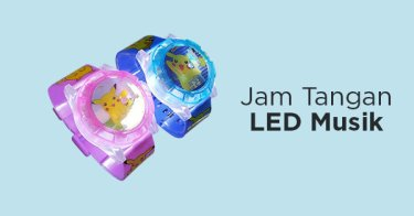 Jam Tangan Anak LED Musik