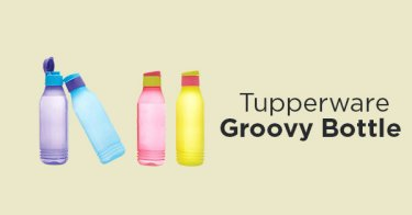 Tupperware Groovy Bottle