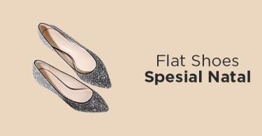 Flat Shoes Glitter Depok