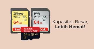 Memory Card Kamera 64GB