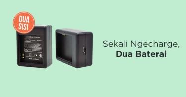 Jual Xiaomi Yi Dual Battery Charger dengan Harga Terbaik dan Terlengkap