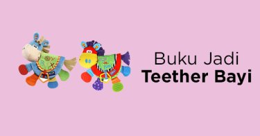 Buku Jadi Teether Bayi