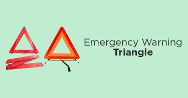 Emergency Triangle Warning Sign
