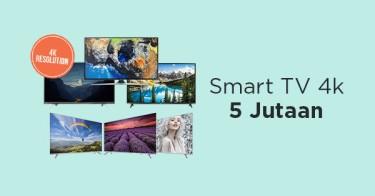 Smart TV 4k 5 Jutaan