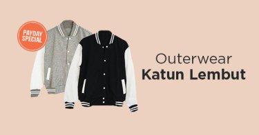 Outerwear Katun Pria