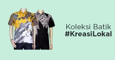 Koleksi Batik #KreasiLokal