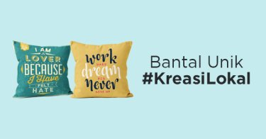 Bantal Unik #KreasiLokal