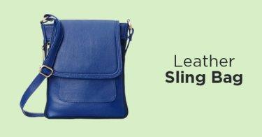 Leather Sling Bag DKI Jakarta