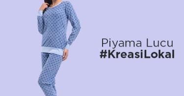 Piyama Lucu #KreasiLokal