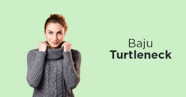 Baju Turtleneck