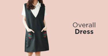 Overall Dress Kabupaten Bogor