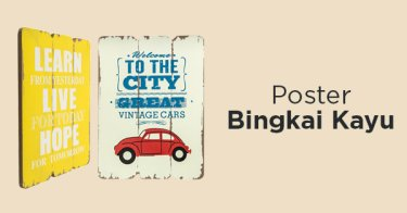 Poster Bingkai Kayu