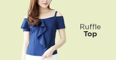 Ruffle Top Bogor