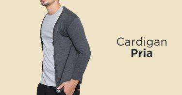 Cardigan Pria