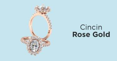 Cincin Rose Gold Depok