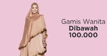Gamis Wanita di Bawah 100.000