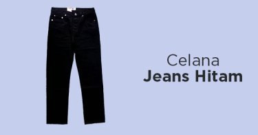 Celana Jeans Hitam Bandung
