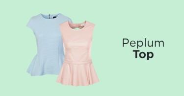 Peplum Top