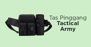 Tas Pinggang Tactical Army Kabupaten Bogor