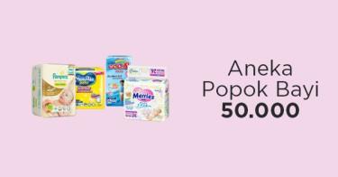 Aneka Popok Bayi 50 Ribuan