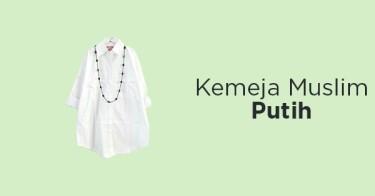 Kemeja Muslim Putih DKI Jakarta