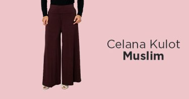 Celana Kulot Muslim