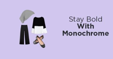 Stay Bold With Monochrome