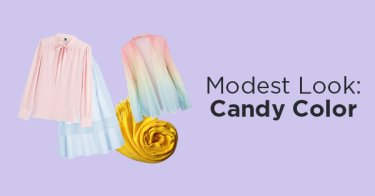 Modest Look: Candy Color