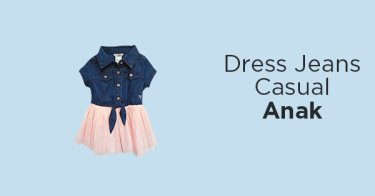Dress Jeans Casual Anak
