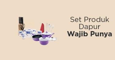 Set Produk Dapur Wajib Punya
