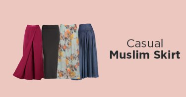 Casual Muslim Skirt