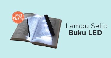 Lampu Selip Buku LED