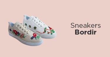 Sneakers Bordir Bandung