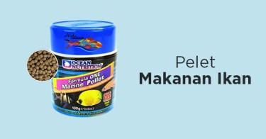 Jual Pelet Makanan Ikan dengan Harga Terbaik dan Terlengkap