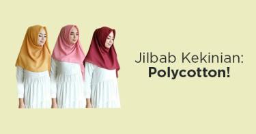 Jilbab Polycotton