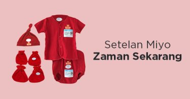 Baju Bayi Miyo Kabupaten Bekasi